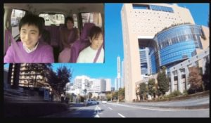 車内撮影時の画像